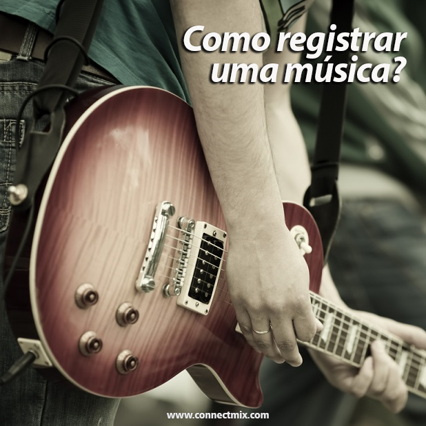 Como registrar uma música Connectmix