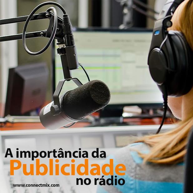 publicidade no rádio Connectmix