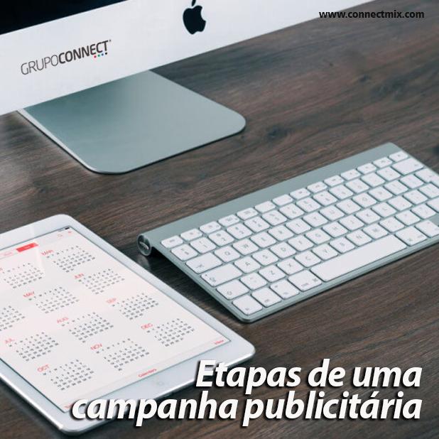 Etapas de Campanha Pubicitária - Connectmix