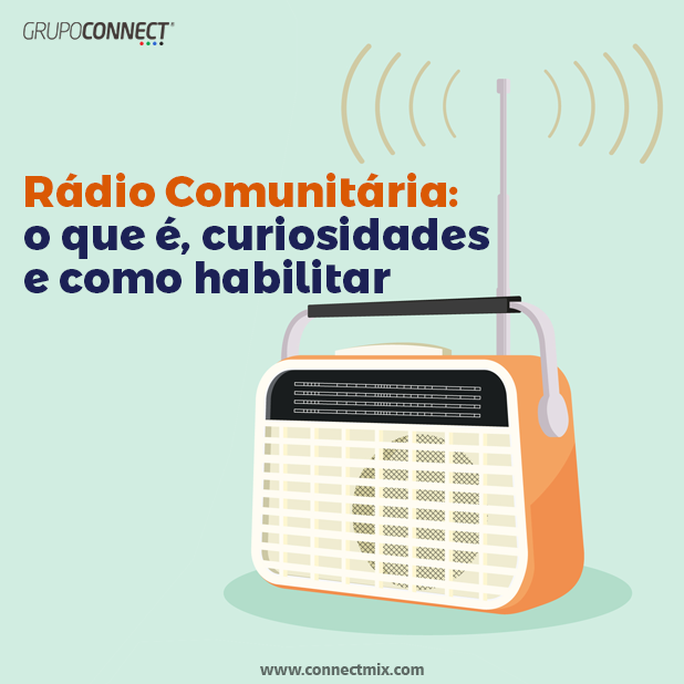 rádio comunitária - Connectmix