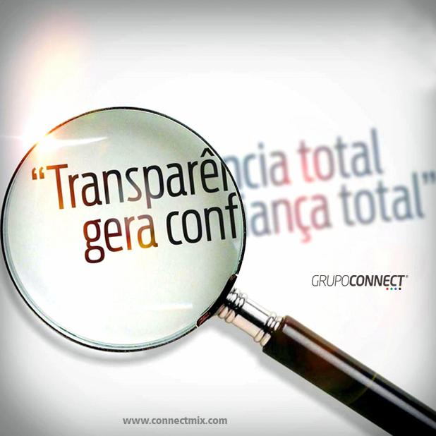 Transparência nas emissoras de rádio - Connectmix