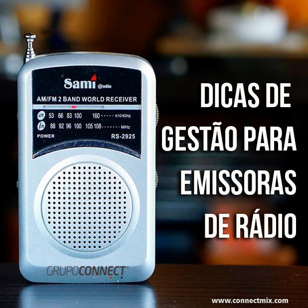 Gestão de Emissoras de Rádio Connectmix
