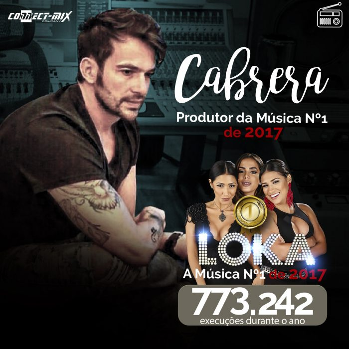 Cabrera produtor musical na Connectmix