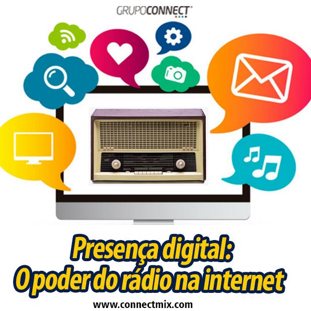 Presença digital do meio rádio