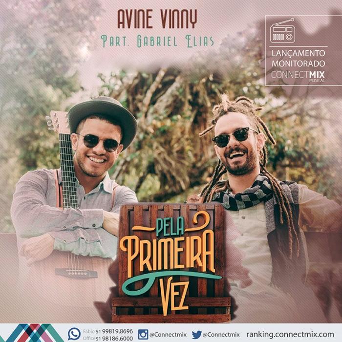 Avine Vinny lança nova música em parceria com Gabriel Elias