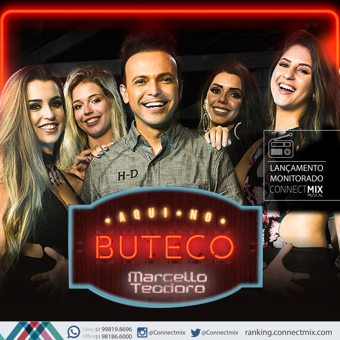 "O cantor Marcello Teodoro lança "" Aqui no Buteco """