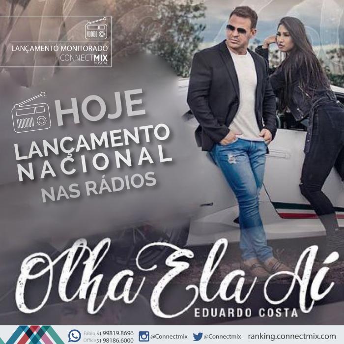 Eduardo Costa lança sua nova música Olha Ela Aí