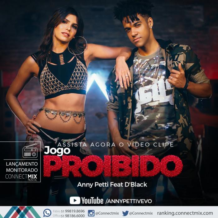 Anny Petti laça a música Jogo Proibido nas rádios do Brasil