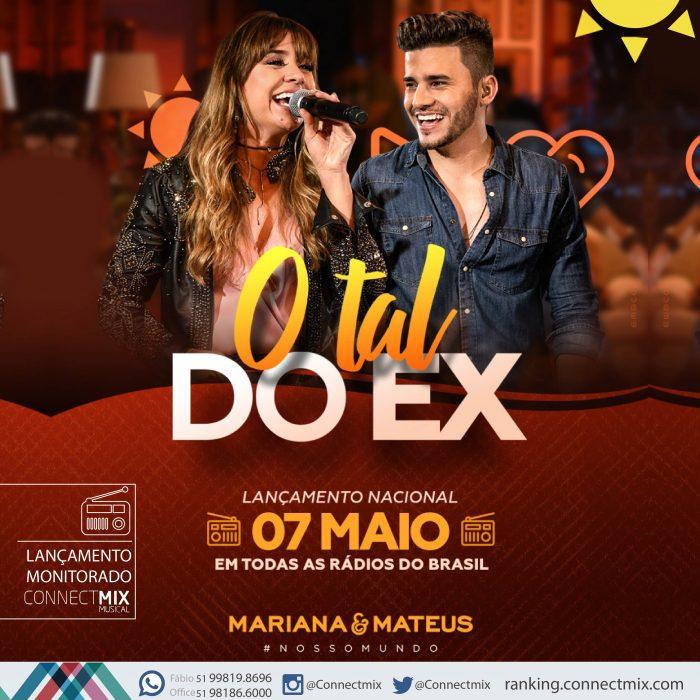 """Mariana & Mateus lançam """"O Tal do Ex"""""""