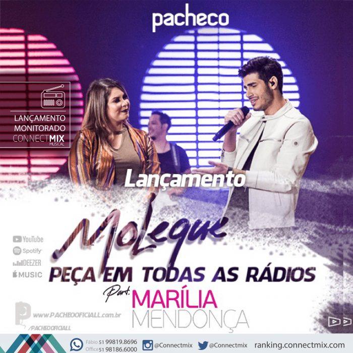 Pacheco Lança A Música Moleque Em Parceria Com Marília Mendonça