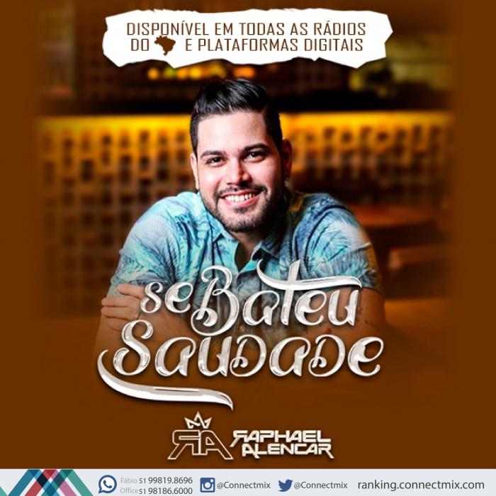 """Raphael Alencar lança """"Se Bateu Saudade"""" nas rádios do Brasil"""