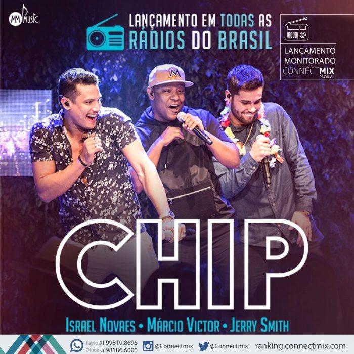 Chip é o novo lançamento de Israel Novaes nas rádios do Brasil