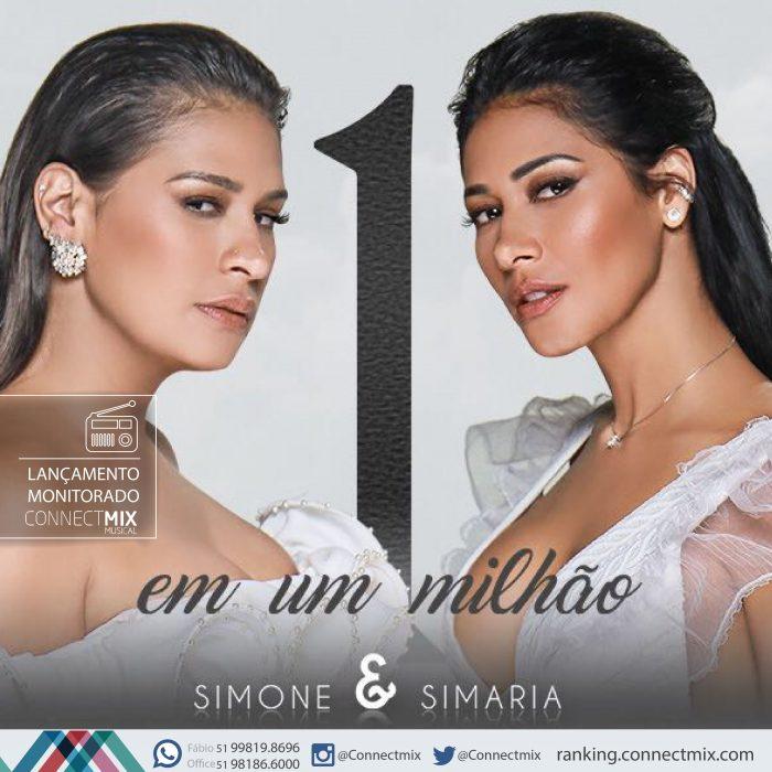 Simone e Simaria 1 em um milhão com monitoramento da Connectmix