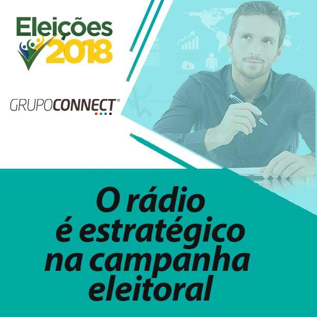 O rádio é estratégico na campanha eleitoral. O monitoramento da campanha também é.