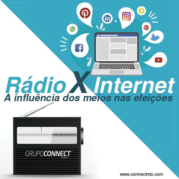 Rádio x Internet: A influência dos meios nas eleições 2018 na visão da Connectmix