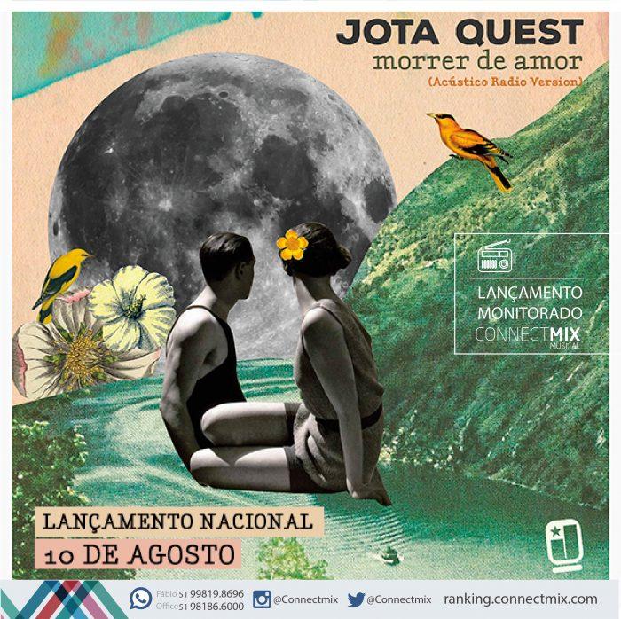 """O Grupo Jota Quest lança nova música """"Morrer de Amor""""-Div. Connectmix"""