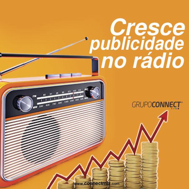 Cresce investimento publicitário no meio Rádio afirma Connectmix