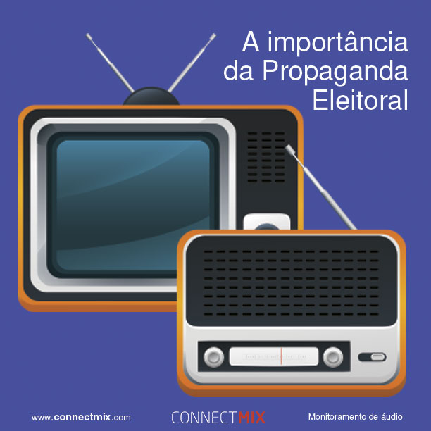 Propaganda no Rádio e na TV serão importantes para definir as Eleições em 2018
