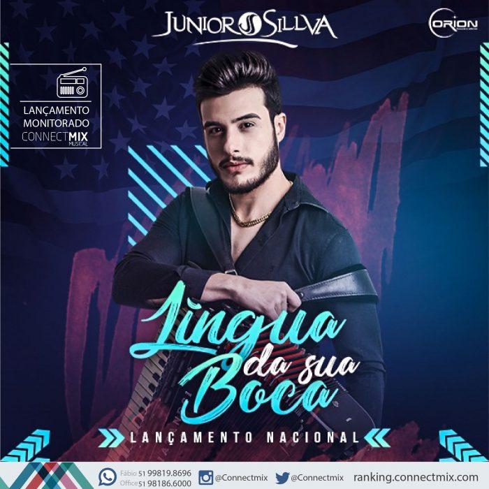 e46f04dc446 Junior Sillva lança sua nova música Língua da Sua Boca