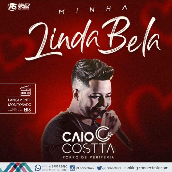Caio Costa lança Minha Linda Bela nas rádios