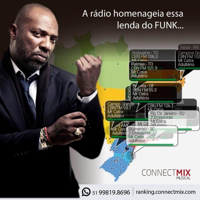 Mr. Catra é homenageado pela Connectmix