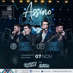 A dupla Gilberto e Gilmar relançam nas rádios o sucesso Assino com X
