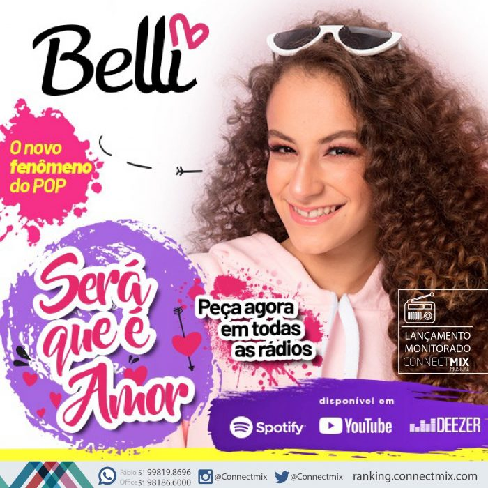 Blitz de Será Que é Amor da cantora Belli