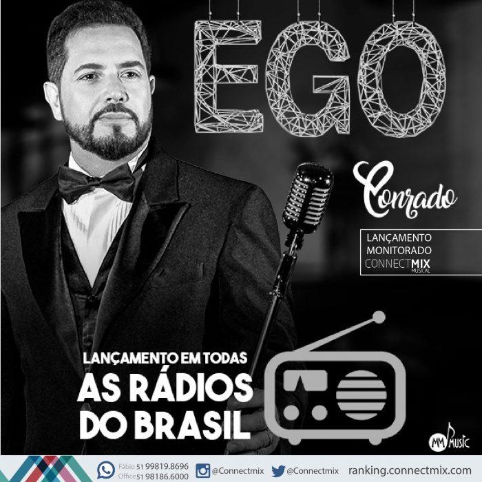 Conrado lança Ego nas rádios do Brasil