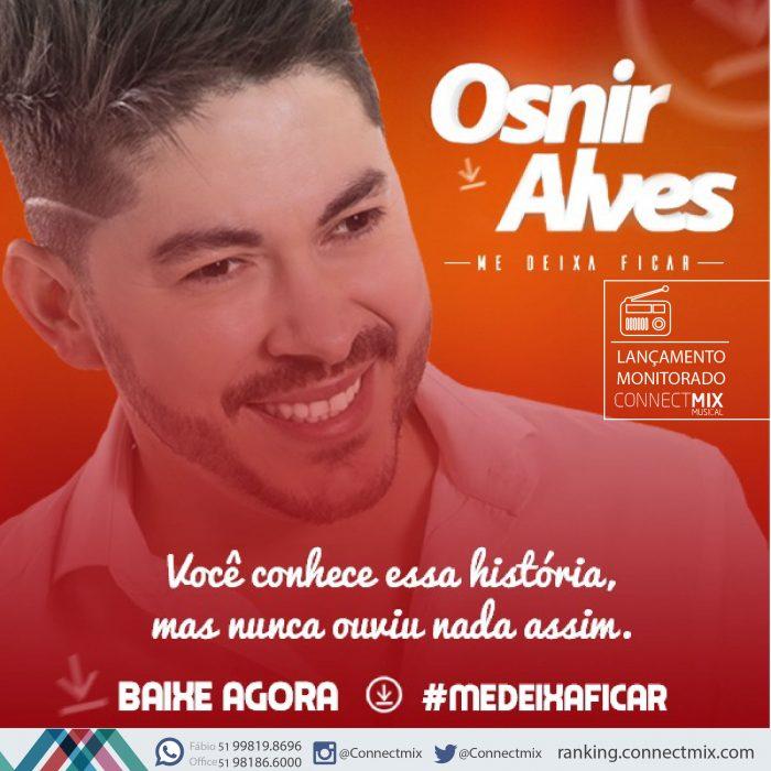Osnir Alves lança Me Deixa Ficar