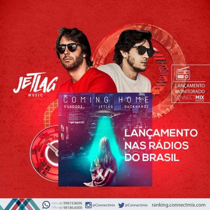 Lançamentos Musicais do JetLag pela Connectmix Janeiro 2019