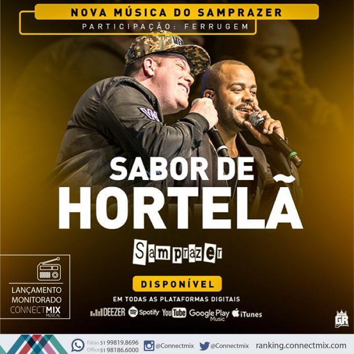 """Hoje tem monitoramento Connectmix da música """"Sabor de Hortelã"""""""