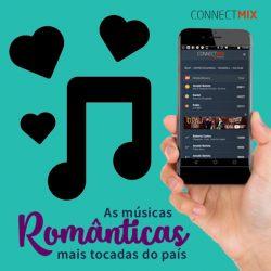 Confira as músicas românticas mais tocadas no país segundo o ranking Connectmix