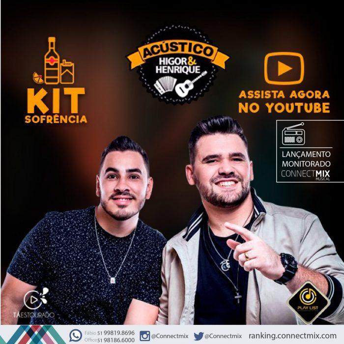 Higor e Herique lançam Kit Sofrência pela Connectmmix