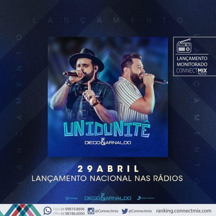 Diego e Arnaldo lança Unidunitê nas rádios
