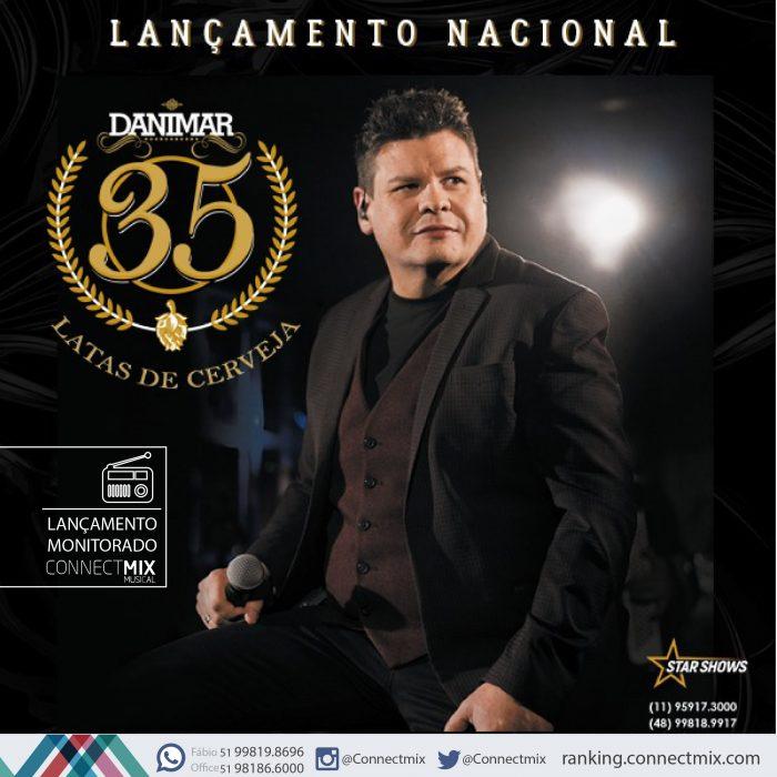 Danimar lança sua nova música de trabalho, 35 Latas de Cerveja.