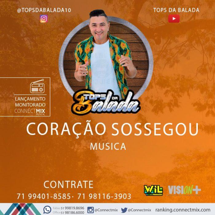 Tops da Balada lançam Coração Sossegou nas rádios