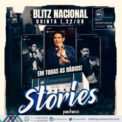Blitz Nacional de Stories do cantor Pacheco