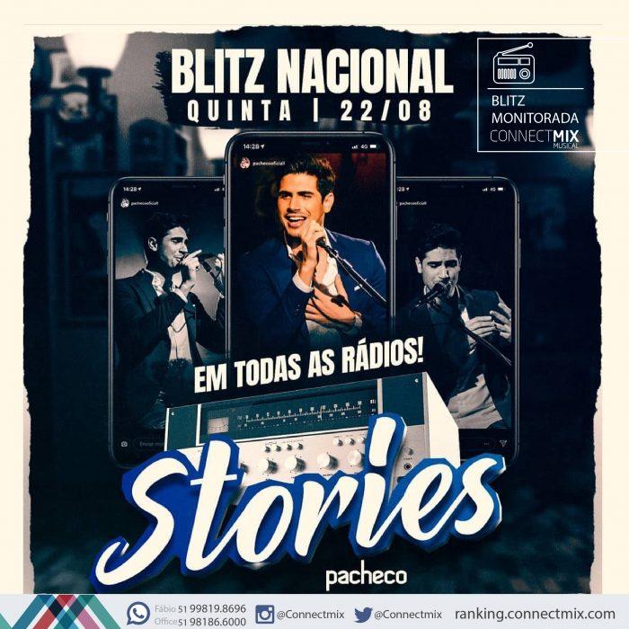 Blitz Nacional de Stories do cantor Pacheco