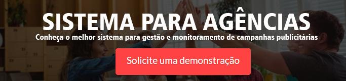 sistema para gestão e monitoramento de campanhas publicitárias da Connectmix