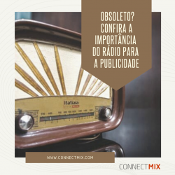 Rádio, um importante meio para vendas