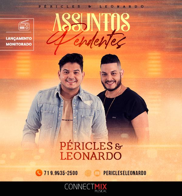 """Péricles e Leonardo lançam """"Assuntos Pendentes"""""""