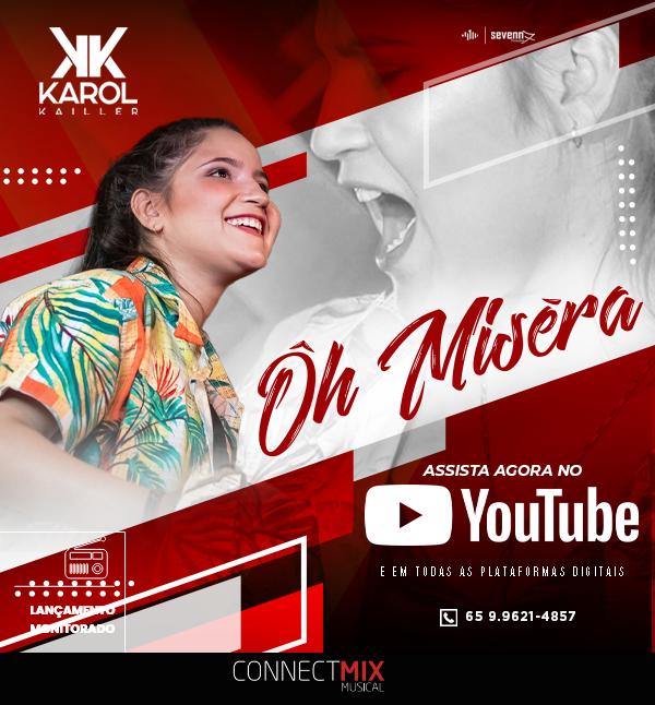 """""""Ôh Miséra"""" é single de Karol Kailler"""